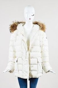Moncler Puffer Channeled Fur Coat