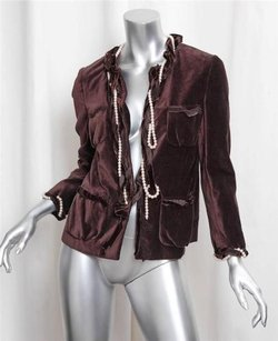 Moschino Cheap And Chic Brown Jacket