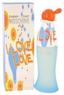 Moschino I Love Love By Moschino Eau De Toilette Spray 1.7 Oz