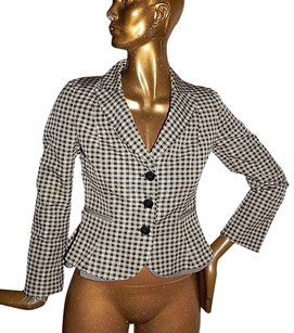 Moschino Moschino Cheap Chic Gingham Check Jacket Italy