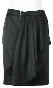 Moschino Cheap And Chic Womens Pencil Wtw Career Knee Length Skirt Black