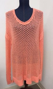 Mossimo Supply Co. Peach Open Sweater