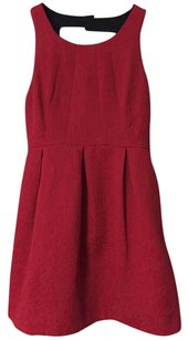 Moulinette Soeurs Sexy Red Night Out Going Out Red Formal Dress