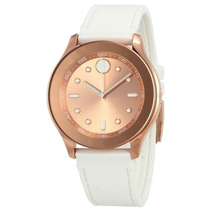 Movado Bold Rose Gold-Tone Dial Ladies Watch MV3600411