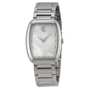 Movado Concerto White Mother Pearl Stainless Steel Ladies Watch MV0606547