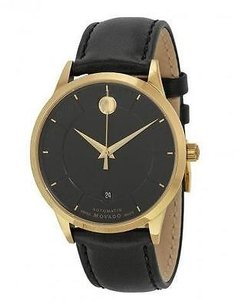 Movado Movado 1881 Automatic Leather Mens Watch 0606875