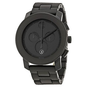Movado Movado Bold Chronograph Black Bracelet Mens Watch