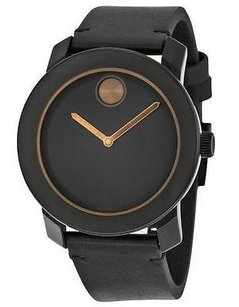 Movado Movado Bold Leather Mens Watch 3600297