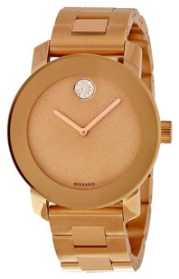 Movado Movado Bold Rose Gold Ion-Plated Stainless Steel Womens Quartz Watch