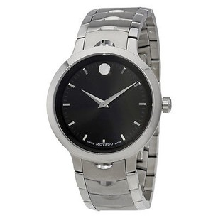 Movado Movado Luno Mens Stainless Steel Watch