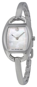 Movado MOVADO Museum Mother of Pearl Dial Stainless Steel Bangle Ladies Watch MV0606606