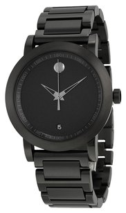 Movado MOVADO Museum Sport Black Dial Black PVD Stainless Steel Men's Watch 0606615