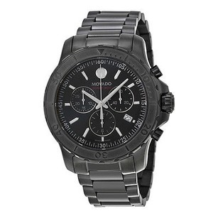 Movado Movado Series 800 Chronograph Black Pvd Stainless Steel Mens Watch