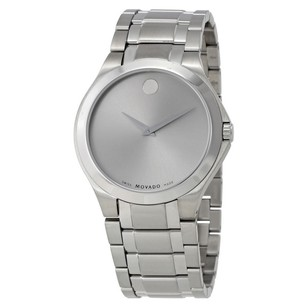 Movado Movado Silver Dial Mens Watch-