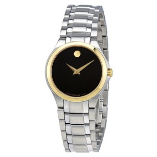 Movado Movado Silver Mirror Dial Diamond Ladies Watch