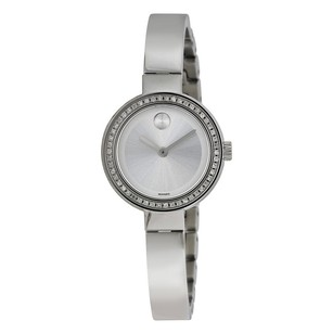 Movado Movado Stainless Steel Ladies Quartz Watch