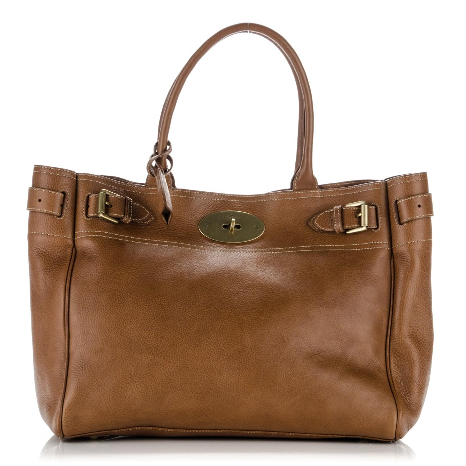 c83e5180b8 reduced mulberry bayswater tote brown fb8a0 04243