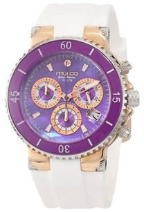 Mulco Mulco Mw3-70604-015 Womens Watch Purple Mop -