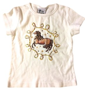 my SUNSHINE T Shirt white with bling