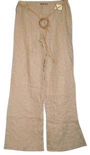 Mystic Natural Tan Beige Relaxed Pants Beiges