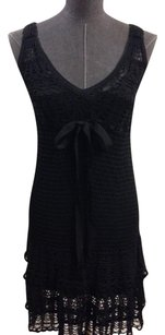Nanette Lepore short dress Black on Tradesy