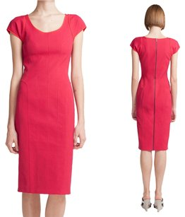 Narciso Rodriguez Cap Sleeve Sheath Collection Runway Dress