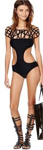 Nasty Gal NASTY GAL cages chaos swimsuit Sz XS New