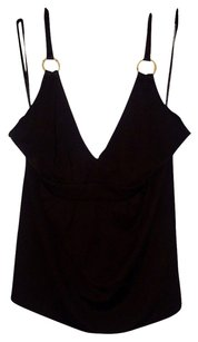 New York & Company Brown Halter Top