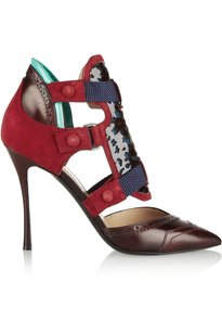 Nicholas Kirkwood Womens Nk_14a001pp01_dkred_36 Red Pumps
