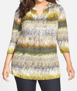 NIC+ZOE 3/4 Sleeve M151051nw Top