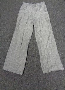 NIC+ZOE Nic And Zoe Specked Linen Blend Casual Elastic Waist Sma4525 Pants