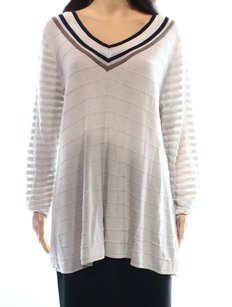 NIC+ZOE Cotton Blends Long Sleeve Sweater