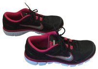 Nike black white and pink Athletic