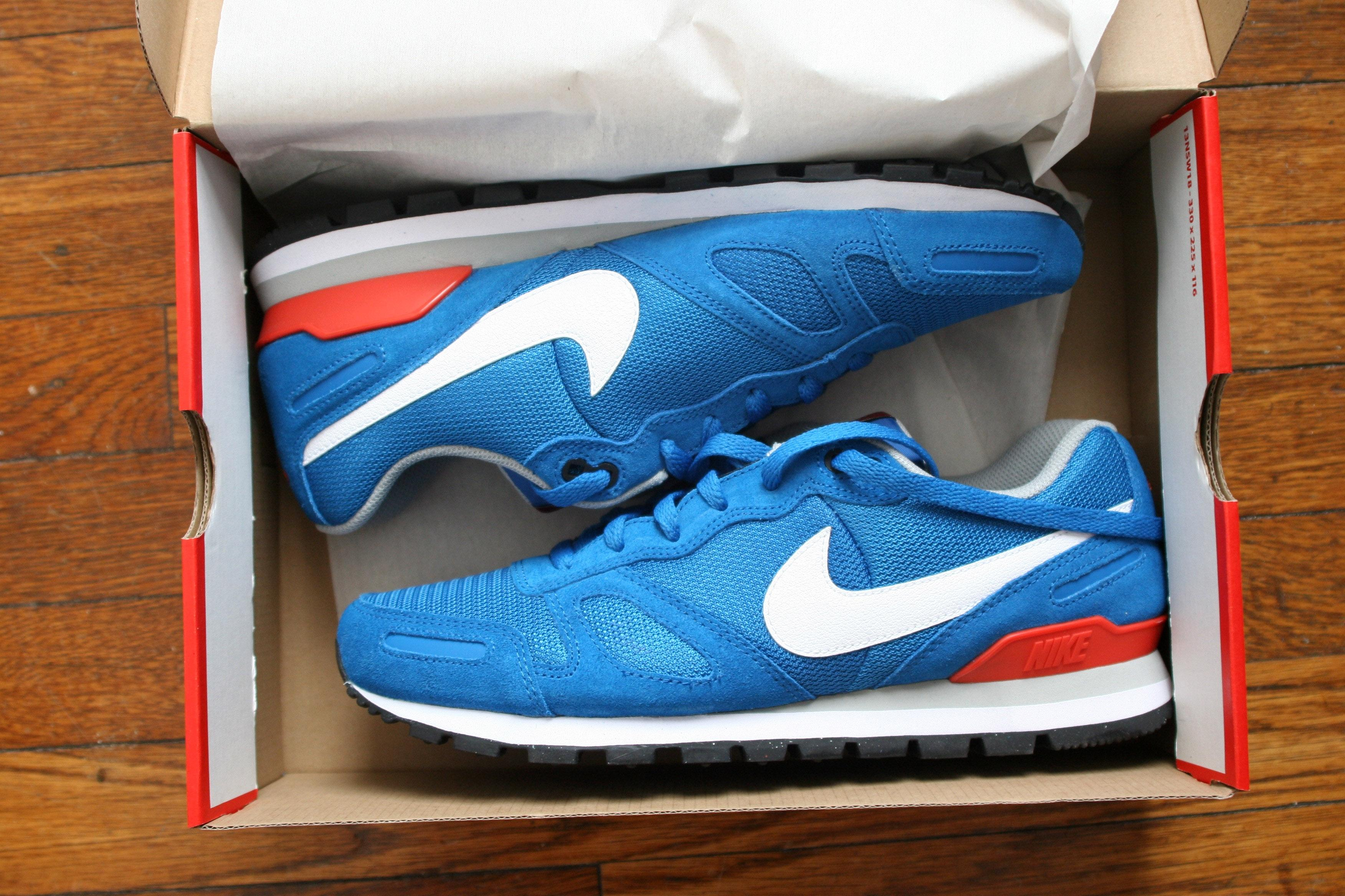 detailed look 9d6ca 4aaa5 ... france nike mens air waffle trainer military red blue orange athletic.  1234567 a5b0f c6dce