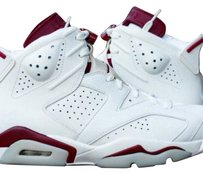 Nike Maroon and white Athletic