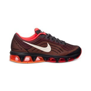 Nike Men's Tailwind 6 Black Workout Black/Crimson Atomic/Orange Athletic