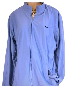 Nike REDUCED Nike set fit zip up jacket light blue XXL