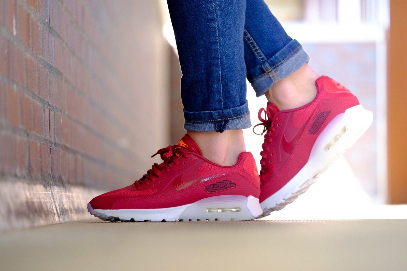 sports shoes 71b90 be89c ... czech nike red air max 90 ultra womens summit white raspberry sneakers  size us 8 tradesy