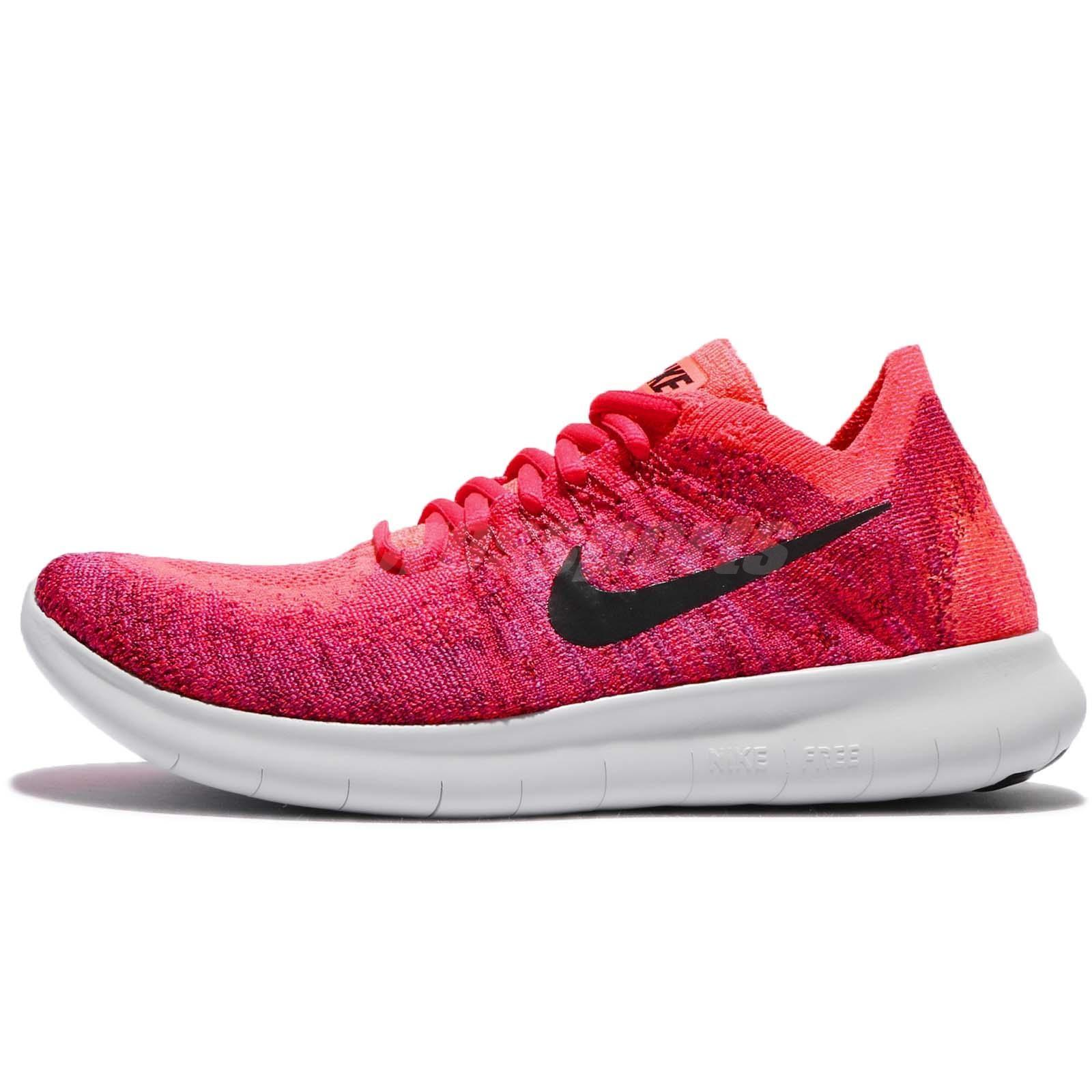 Nike Solar red Athletic. Nike Solar Red Free Rn Flyknit Sneakers Size US  7.5 Regular (M, B)