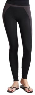 Nikibiki Rib Colorblock Charcoal and Black Leggings