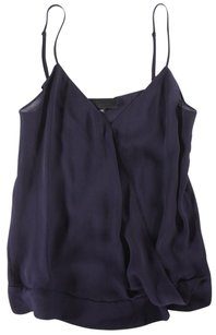 Nili Lotan Lotan Navy Nili Sheer Ej Top