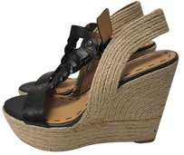 Nine West & Wedges Black Platforms