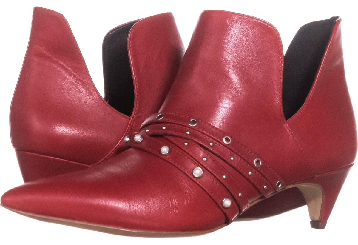 050aaa9f865 Nine West Red Zorolla Cutout Pull On Ankle Ankle Ankle 935 Boots Booties Size  US 6.5 Regular (M