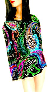 Niteline Formal Coctail Top Black, Turquoise, Shocking Pink, Red, Gold, Silver, Blue, Green