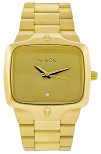 Nixon Nixon Goldtone Player Watch