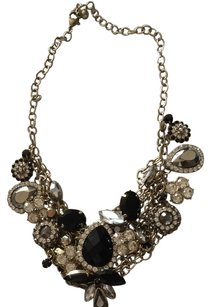 Nordstrom Chunky Black And Gold Necklace