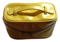 Nordstrom Cosmetic Weekend pearl yellow Travel Bag