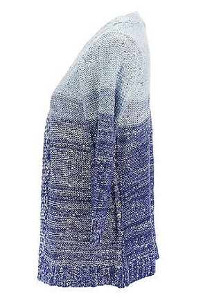 lovely NY Collection Ny Collection Multi-color Womens Sweater Blue Acrylic -