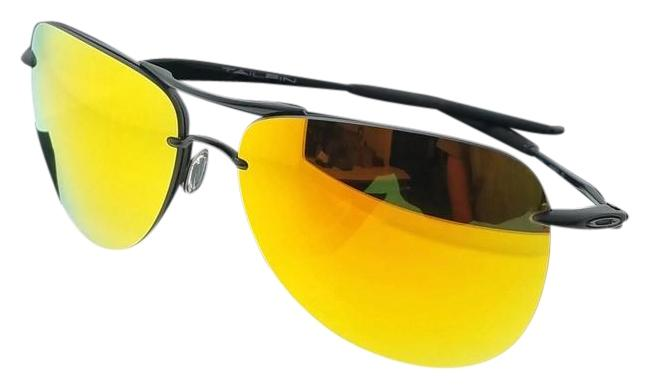 0ab1c5957f73d ... where can i buy oakley oo4086 11 tailpin mens black frame yellow lens  genuine sunglasses 53279