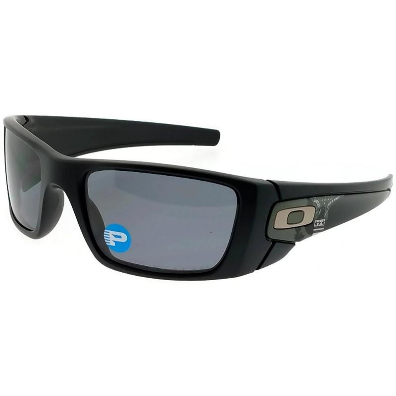 3cc87434715 ... ireland oakley oo9096 91 fuel cell mens black frame grey lens polarized  sunglasses 7d353 0623f
